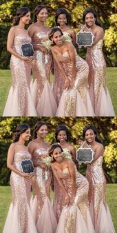 Sparkly Mermaid Sweetheart Sequins And Tulle Long Bridesmaid Dresses, BD1055 Sparkly Mermaid Sweetheart Sequins And Tulle Long Bridesmaid Dresses, BD1055
