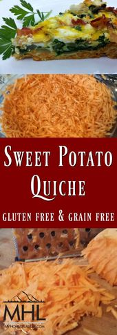 Sweet Potato Quiche- Gluten and Grain Free! – My Homestead Life