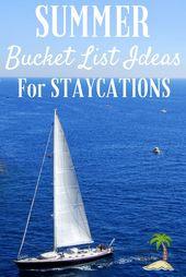 Summer Bucket List Staycation Ideas – Summer