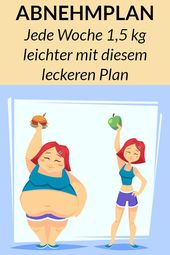 Dieser Gewichtsverlust Plan zeigt Ihnen genau, was Sie essen müssen, um schnell fett zu werden.