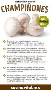 5 increíbles beneficios de los champiñones para tu salud - Cocina Vital - ¿Qué cocinar hoy? 1