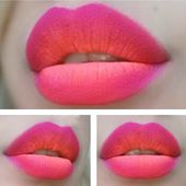 Beauty-Trends: Wie man fantastische Ombré-Lippen abzieht Perfekt