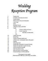Best Wedding Reception Program Civil 57 Ideas Wedding Reception