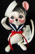 AnnaLee Mobilitee Vintage Doll Bridegroom Mouse