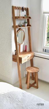 40 DIY ideas ikea beauty station hack