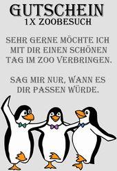 Gutscheinvorlage Fur Den Zoo In 2020 Gutschein Vorlage Gutscheine Verschenken