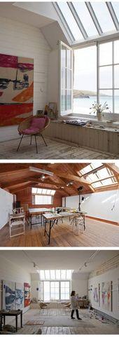 Über 20 trendige Ateliers für das Home Art Studio – artists at work