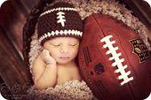 Nouveau-né photo prop bébé garçon football chapeau nouveau-né bébé vêtements   – Kindermode