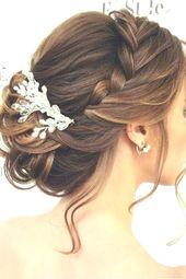 Le 1001 + ideas for braiding the wedding to borrow – #entlehnen #flechtf … – Hairstyle Women Hairdos – #lend #der #entlehnen