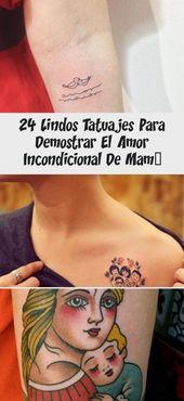 24 süße Tattoos, die Mamas bedingungslose Liebe zeigen