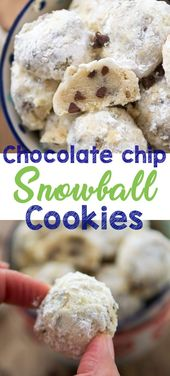 This is the most popular snowball cookie recipe – an easy Russian Teacake with c…