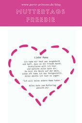 Photo of Als gratis freebie voor moederdag hebben we een geweldig moederdaggedicht voor …