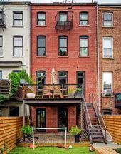 Mike D's (Beastie Boys) Wunderschönes Stadthaus in Brooklyn (12 Bilder) – #be …   – Anbau Treppenhaus