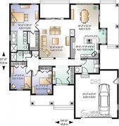 Plan de maison unifamiliale Châtaignier 2 No. 3226-V1