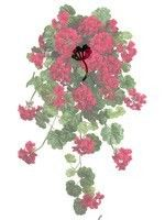 """Artificial Imitation Plants 2 x Potted Ivies w// Wreath Replica Ivy 18/"""" 46cm"""
