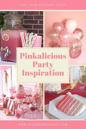 Pinkalicious Birthday Party Inspiration