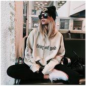Tumblr Pullover Hoodies Women Ariana Grande Harajuku Blackpink Exo Kpop Bts Sweatshirts Tracksuit Oversized plus size clothing