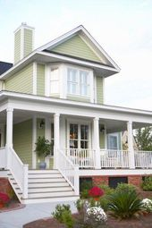How To Paint Aluminum Siding In 5 Steps Low Country Homes Building A House Design Your Dream House