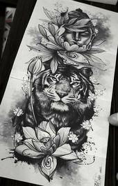 Blumen / Gesicht von Mama?   – Tattoo vorlagen – #Blumen #Gesicht #Mama #Tattoo #von