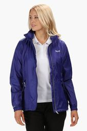 Womens Regatta Corinne IV Waterproof Jacket – Blue