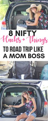 Nifty #roadtrip hacks och saker att göra bilturer med barnen smidig segling !! Nej…
