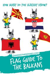 Balkan Flags: See What The Balkan Countries Flags Each Look Like