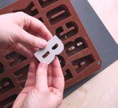 DIY Beton Buchstaben gießen