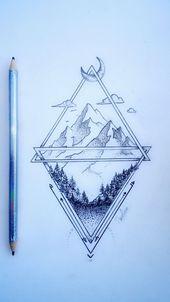 Zeichnen von #PaulineDUFLOT #tattoo #tat … – #drawing #graphism
