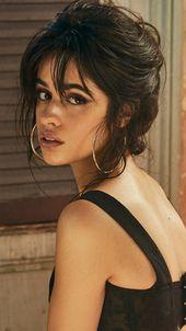 Camila Cabello, beautiful singer, turning back, 720×1280 wallpaper