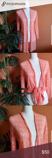 Jones New York Loose Knit, Long, Open Cardigan Jones New York Cardigan,  cardi, …