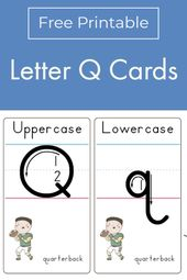 Letter Q Formation Cards | Primary Learning