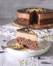 Schokoladenmousse-Kuchen – Torte   – Torten