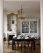 31 Beautiful Parisian Dining Rooms
