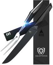 "Shadow Black Series 9 ""Carving Messer & Gabel Set – NSF zertifiziert   – Ideas for the House"