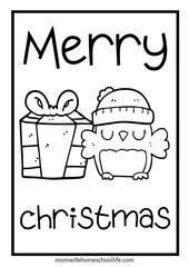Free Preschool Christmas Worksheets  – Mom Wife Homeschool Life Blog Posts