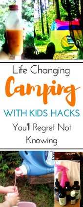 Family Tent Camping Hacks and Ideas For Camping With Kids  – Packing For Camping
