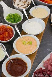 Raclette Saucen und ein paar Ideen