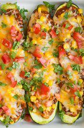 Chicken Zucchini Enchiladas – Low Carb