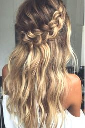 Luxury hair hairstyle prom hairstyle wedding hairstyle party hairstyle – event planning #frisuren #eventplanung #frisurenabiball