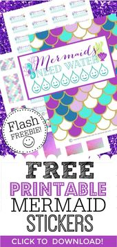 Need free digital printable planner stickers for planner decorating? Need some s…