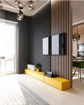 Inspiration für einen Raum mit schönen Accessoires, Beleuchtung und Möbeln. ICH…   – wall & ceiling inspiration