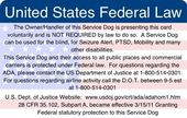 Know The Law Psychiatric Service Dog Service Dogs Gear Service Dog Training