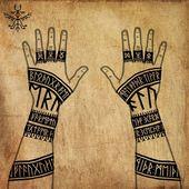"harbardart@gmail.com on Instagram: ""Elder runes and patterns. Words of strengh… – Perfekte Tätowierungsmodelle"