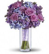 Lavendel Himmel Bouquet   – Flores