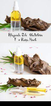 Pflegende Schüttellotion für reife Haut #Hautpflege-Rezepte