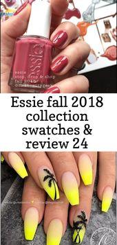 Essie Herbst 2018 Kollektion Swatches & Review 24   – Nagel