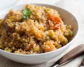 Risotto de quinoa au potimarron Croq'Kilos