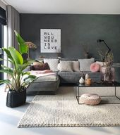 Complex Living Room Furniture Comfy #homedeco #Fur…
