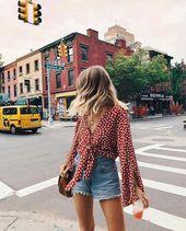 Mode, Stil und Outfit-Image