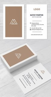 Illustrator Business Card Light Clean Business Card